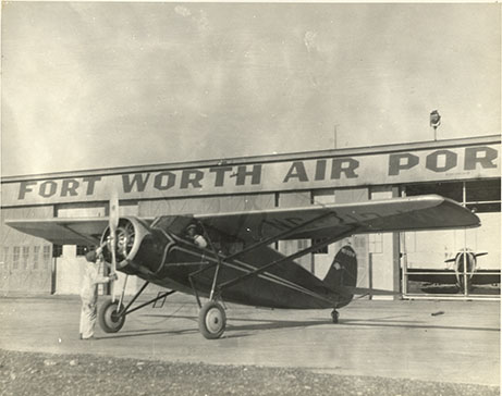 Fort Worth Air Port, undated
