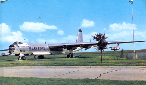 B-36 Peacemaker at Carswell AFB Fort Worth