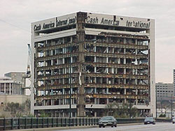 Cash America Building in 2000