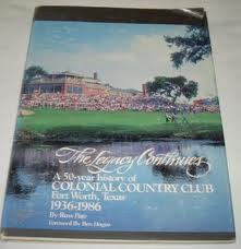 Colonial Country Club Book