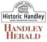 Logo for the Handley Herald newspaper