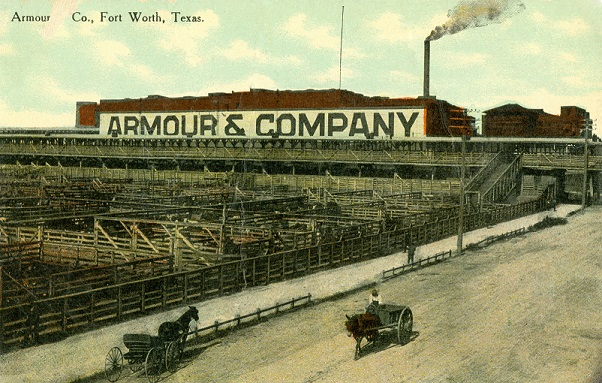 Armour and Company Fort Worth Postcard