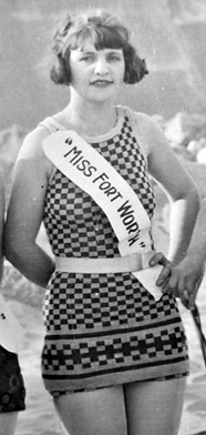 Miss Fort Worth 1926, Vivian Cayce.