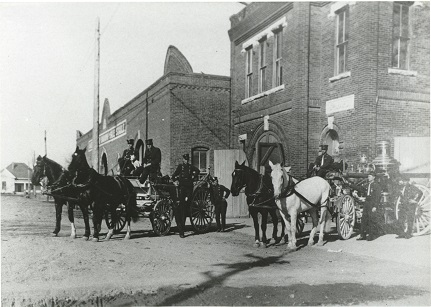 Fort Worth Firemen, circa early 1900s