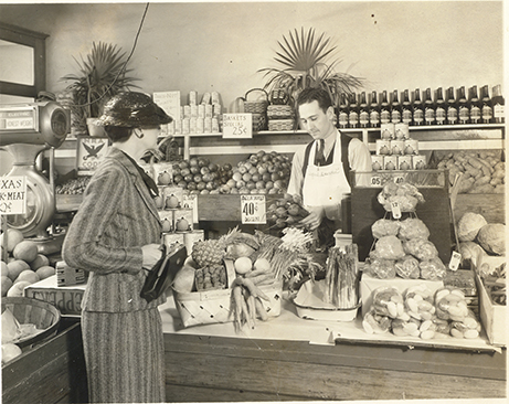 Interior view of Turner and Dingee Store, circa 1933-1935