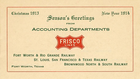 Frisco Lines booklet