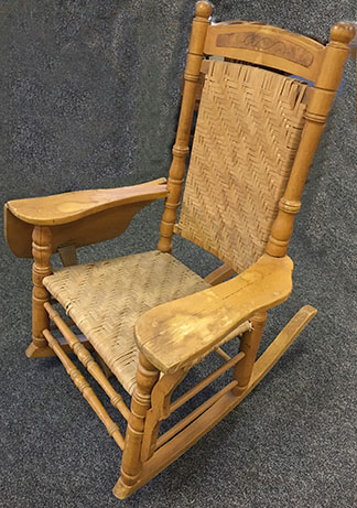 John Peter Smith rocking chair