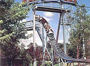 Six Flags Coaster in 1977