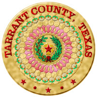 Tarrant County embroidered seal