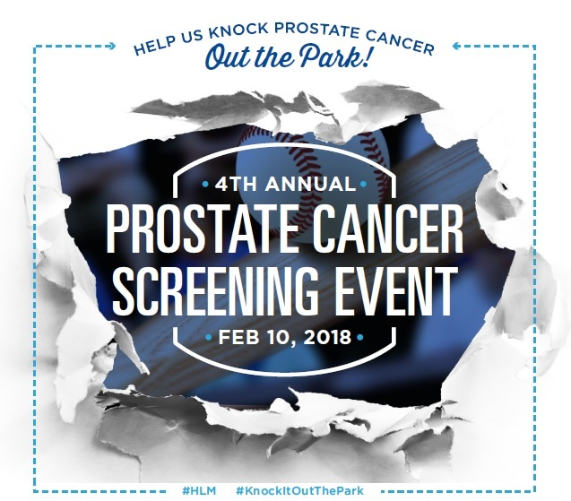 2018 Prostate Cancer Event Flyer