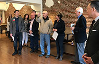Mansfield Chamber Building Historical Marker Dedication 4