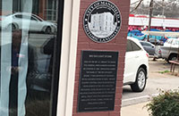 Mansfield Chamber Building Historical Marker Dedication 7