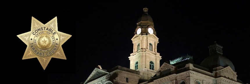 TC Courthouse at night and Constable Seal