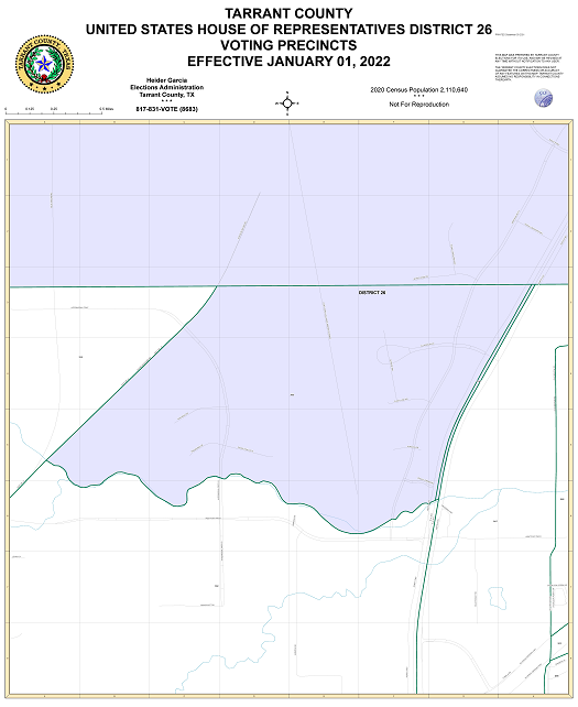 Us Representative District 26 Map