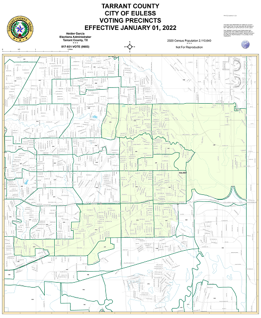 City of Euless Map