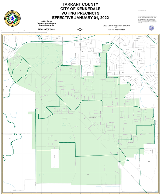 City of Kennedale Map