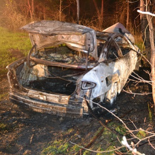 Burned Vehicle