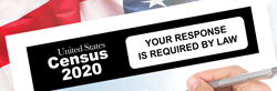 US Census 2020. Your response is required by law