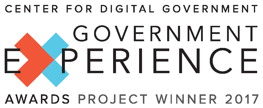 2017 Government Experience Award Logo