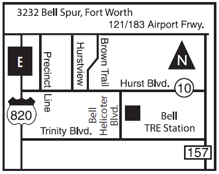 3232 Bell Spur map