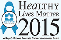 Healthy Lives Matter 2015 A Roy C. Brroks Cancer Awareness Event Graphic