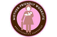 Mother-Friendly Worksite logo, a breastfeeding supporter.