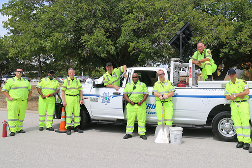The Tarrant County Sheriff's Courtesy Patrol is a federal Clean Air grant-funded operation through the Texas Department of Transportation and the North ...
