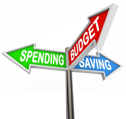 Spending, budget and saving
