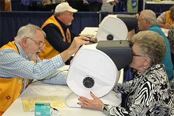 Lions Club Eye Screening