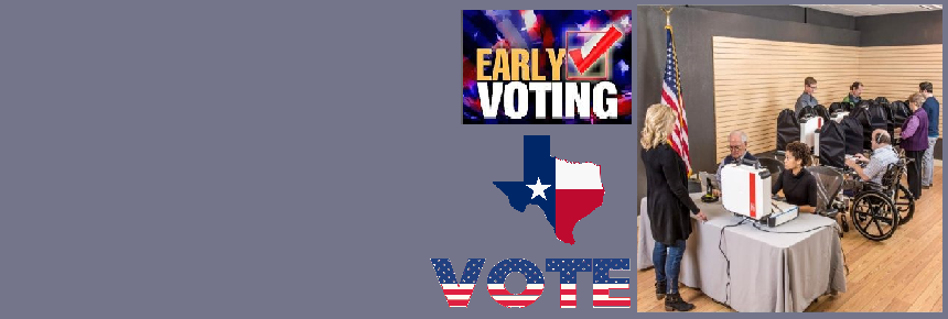 Early Voting in Person Information and Reports