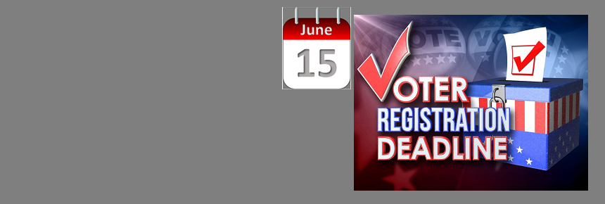 Joint City and Primary Runoff Election Voter Registration Deadline