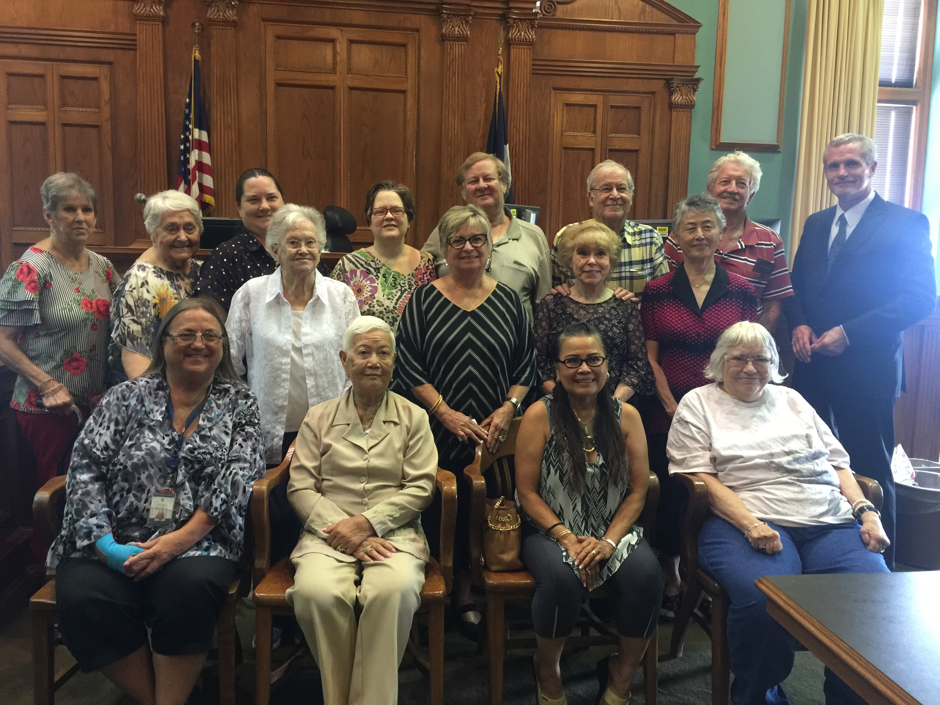 WATAUGA SENIOR CITIZENS VISIT 6.20.2018