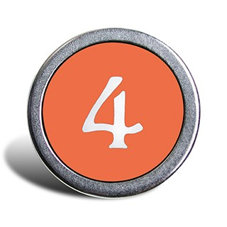 round button with the number 4