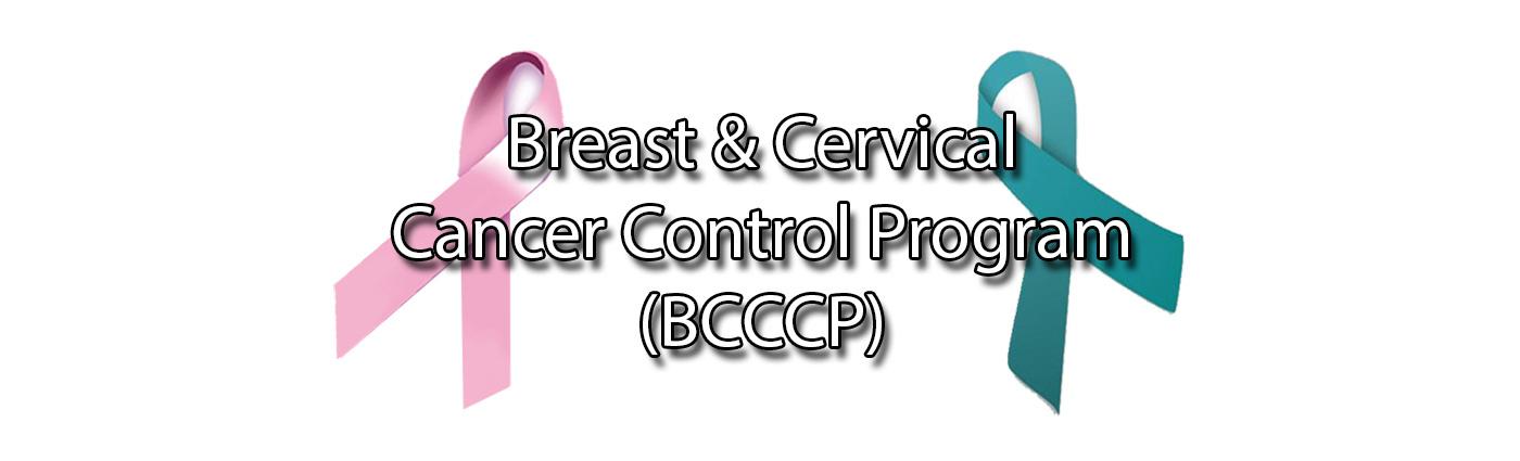 Breast & Cervical Cancer Control Program Logo
