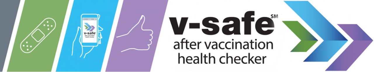 V-Safe after vaccination health checker logo