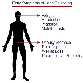 Early Symptoms of Lead Poisoning