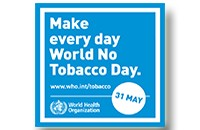 World No Tobacco Day is nearly here. Friday May 31st, Pledge to Quit