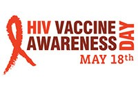 HIV Vaccine Awareness Day, May 18th