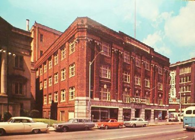 Phoenix Furniture Building in the 1960s